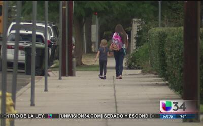 Las zonas escolares son un peligro para los estudiantes