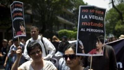 La violencia en contra de la prensa en México ha alcanzado niveles alarm...