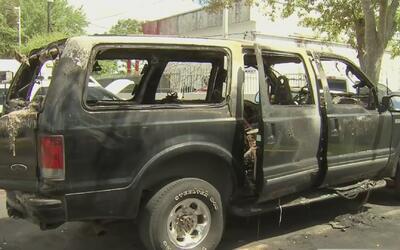En menos de una semana, cinco vehículos aparecieron calcinados en el sur...