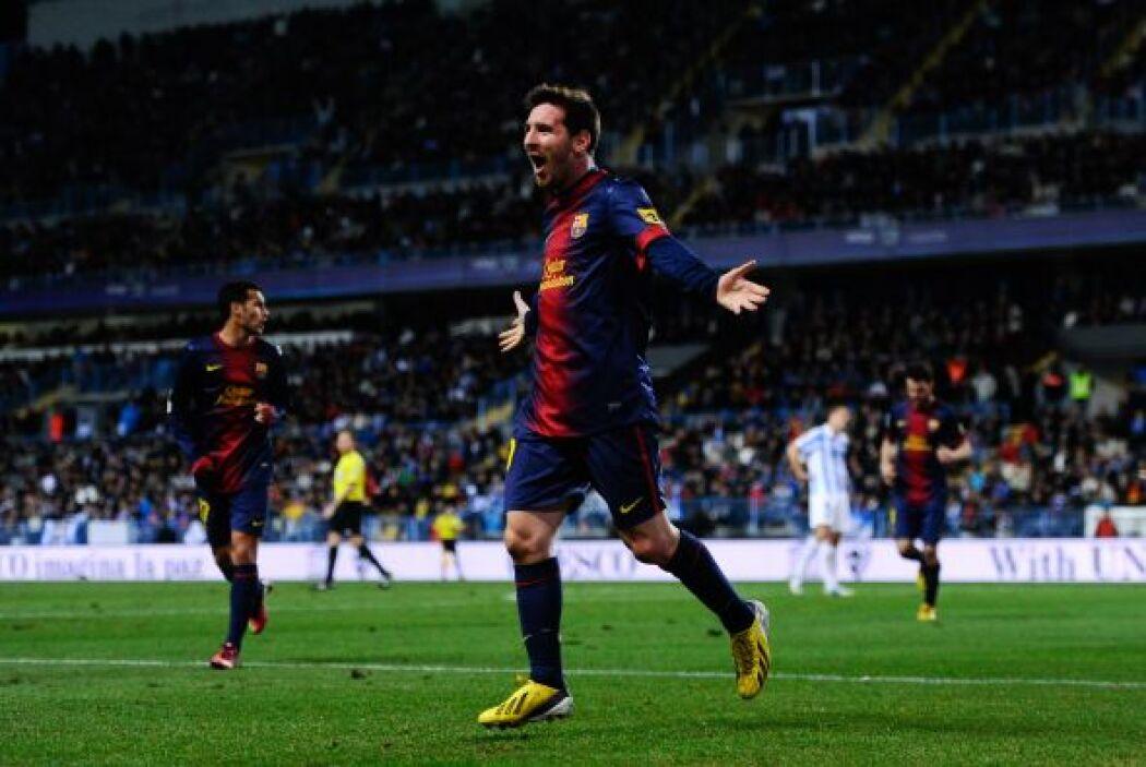 Leo Messi se apuntó un póker el domingo. Ante el Osasuna en el Camp Nou,...