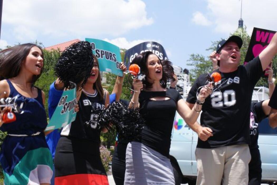 Noticias 41 con los San Antonio Spurs