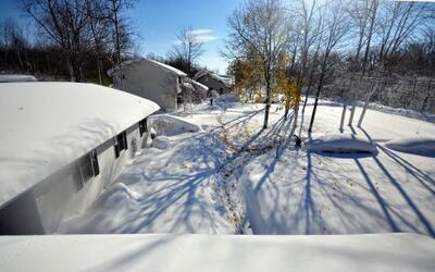 Bajo la nieve se encuentra al menos la mitad de Estados Unidos.