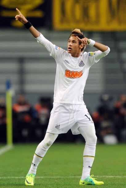 Antes de los 20' apareció Neymar y puso el 1 a 0.