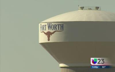 Alerta por agua no potable en Fort Worth