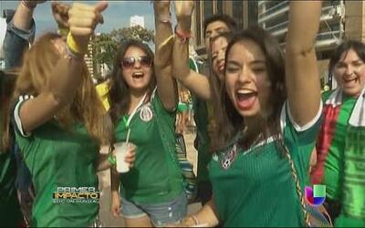 La fortaleza de México contra Brasil en Fortaleza
