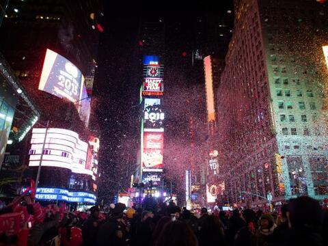 NY 2015 celebration