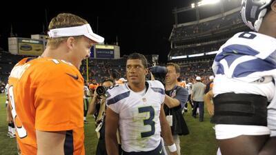 Peyton Manning ayudó a perfeccionar el estilo de su rival en el partido...