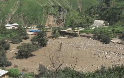 Así quedó un pueblo en Perú sepultado bajo el lodo