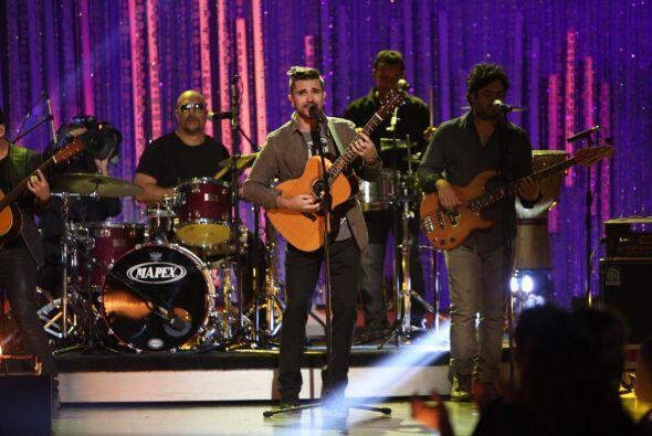 Juanes fue uno de los invitados para amenizar esta gran gala.