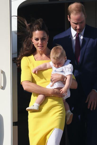 Como siempre, la duquesa de Cambridge se robó las cámaras....