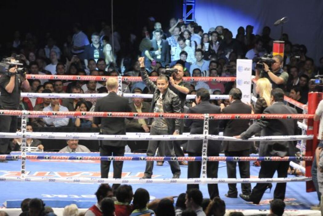 Giovani 'Guerrero Azteca ' Segura.