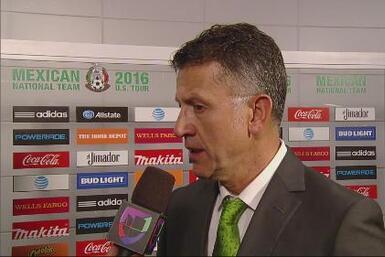 """Juan Carlos Osorio """"El fútbol mexicano tiene un muy buen presente y extr..."""