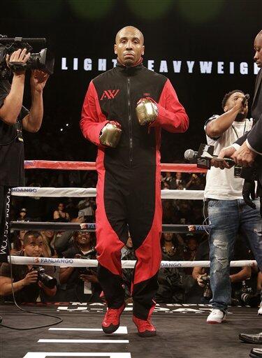Andre Berto culpó a Floyd Mayweather Jr. por la baja venta en PPV AP_881...