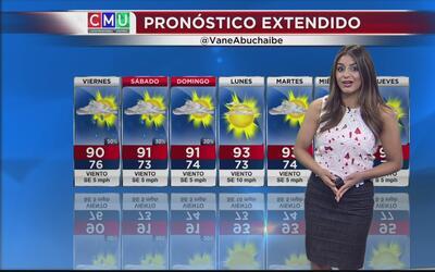 Dallas tendrá un viernes parcialmente nublado con alta probabilidad de l...