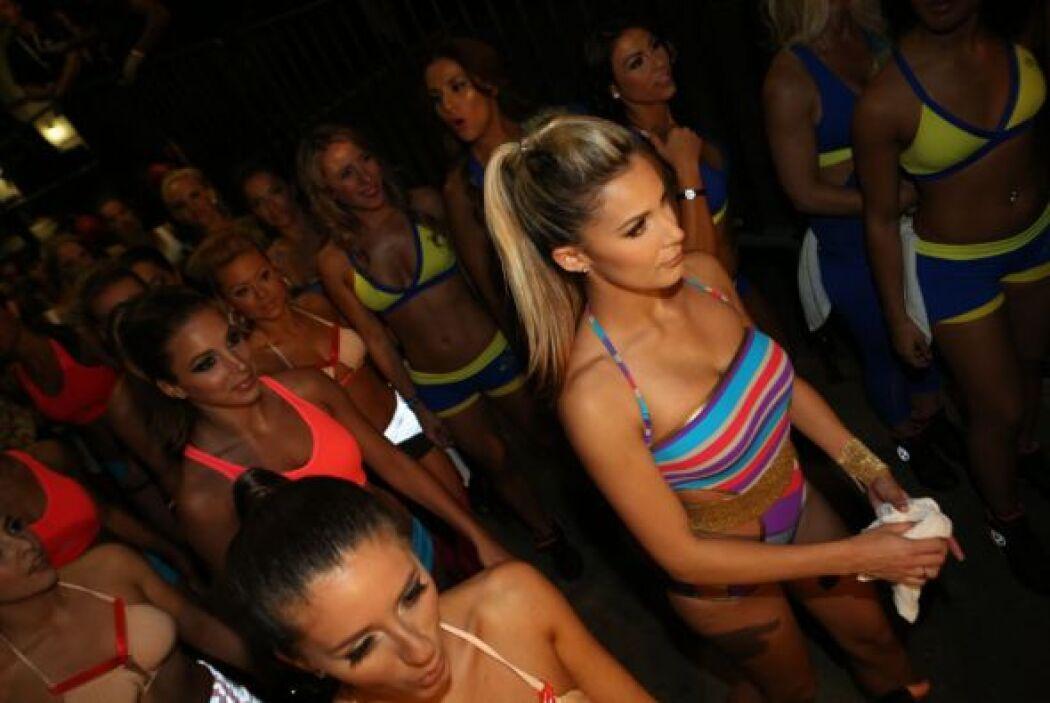 ¡Qué tal la belleza de las bailarinas!