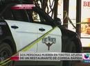 Dos muertos en tiroteo