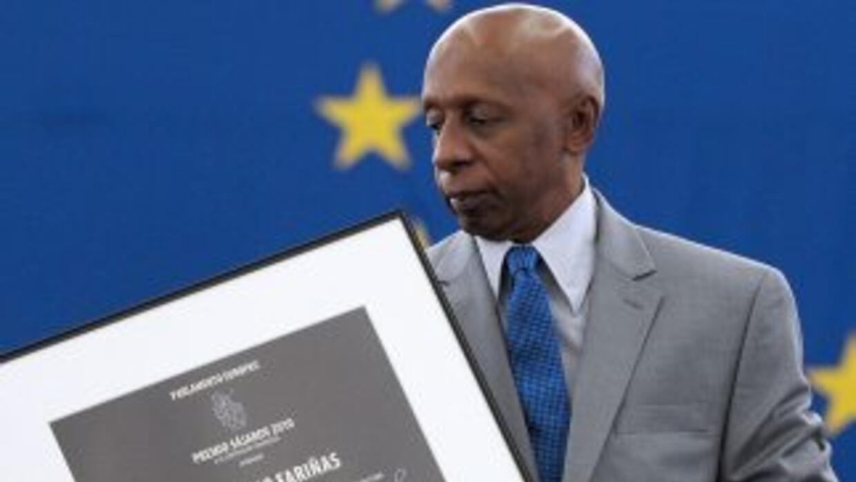 El disidente cubanoGuillermo Fariñas.