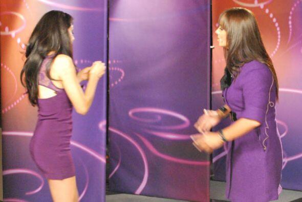 Las dos actrices casi terminan su escena a los golpes.