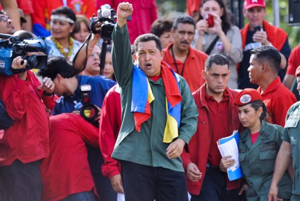 Es la primera vez que un mandatario venezolano se ausenta tanto tiempo d...