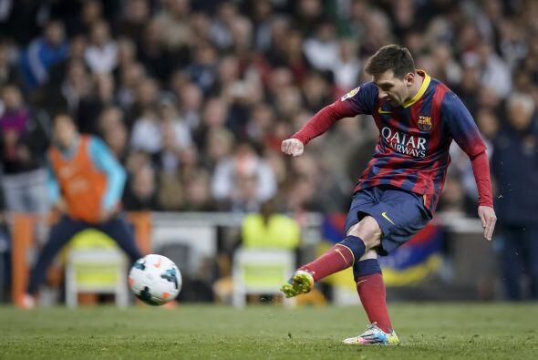 Lionel Messi vendría al cobro en busca de su segundo gol del juego.