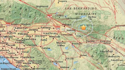 El sismo fue de 3.1 grados en la escala de Ritcher.