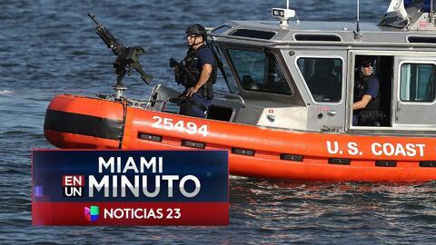 'Miami en un Minuto': guardacostas desplegarán operativo de seguridad pa...
