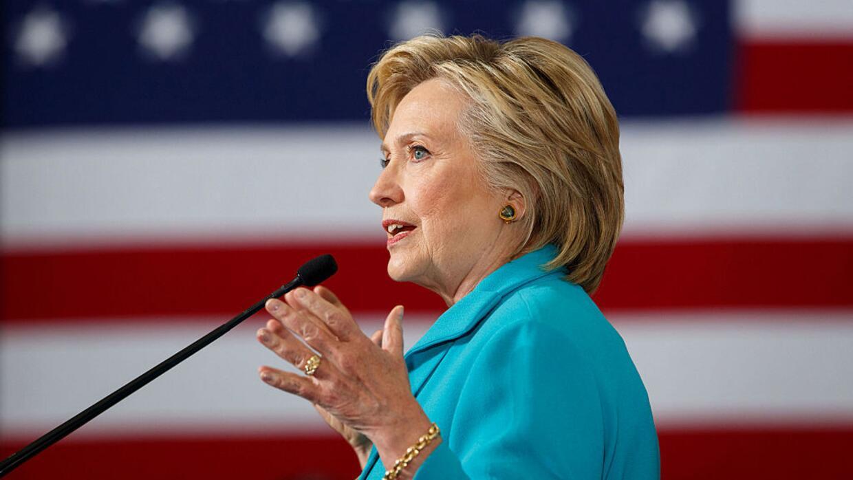 Hillary Clinton el 25 de agosto de 2016 en Reno, Nevada.