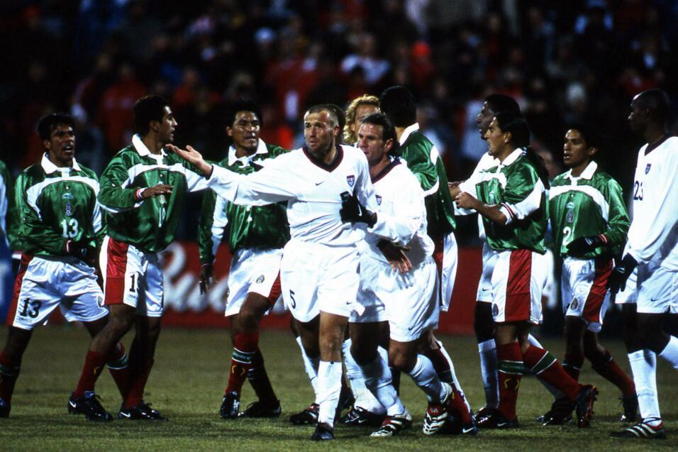 Historia de la maldición de Columbus: México vs Estados Unidos OK 2001 C...