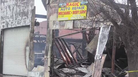 Incendio deja cuantiosos daños materiales en locales de Stockton
