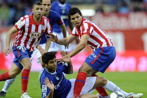 Otro duelo destacado de la fecha 32 fue el de Atlético de Madrid que rec...