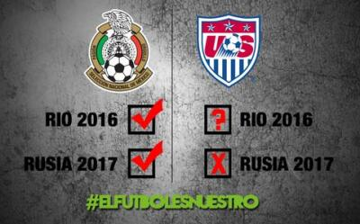 El Tri troleó al Team USA.