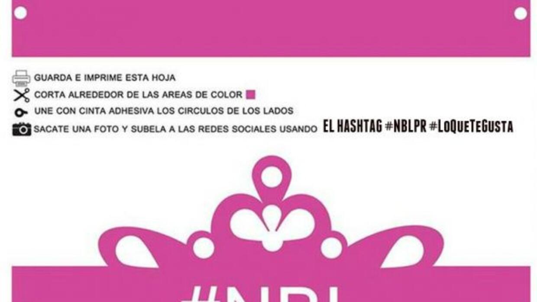 Saca la reina que hay en ti, imprime tu corona y envíala usando #NBLPR #...