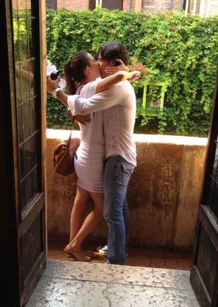Verona fue el lugar elegido para sellar este compromiso de amor.