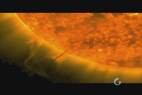 Incluso existen grabaciones del sol que han arrojado imágenes imp...