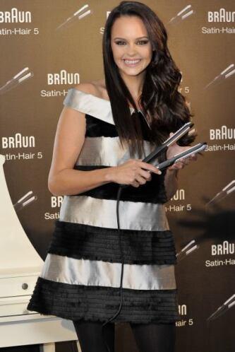 Shaila Dúrcal en noviembre de 2010 en un evento de belleza. Mira aquí má...