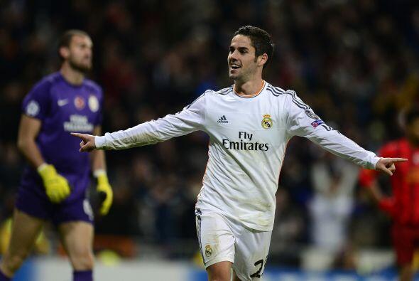 Isco hizo el último tanto del partido y el Real Madrid se impuso...
