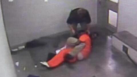 Reo murió asfixiado por dos oficiales en una cárcel de Oklahoma