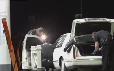 Un conductor de 51 años fue detenido por disparar a un oficial en el con...