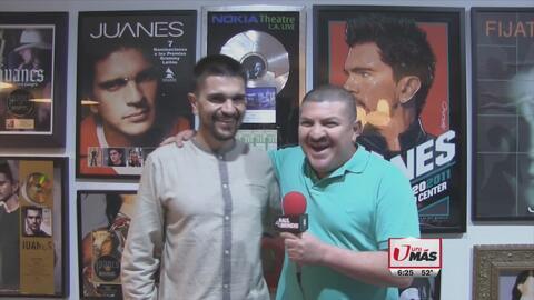 Para Juanes lo más importante es presentar 'Hermosa ingrata' en Premio L...