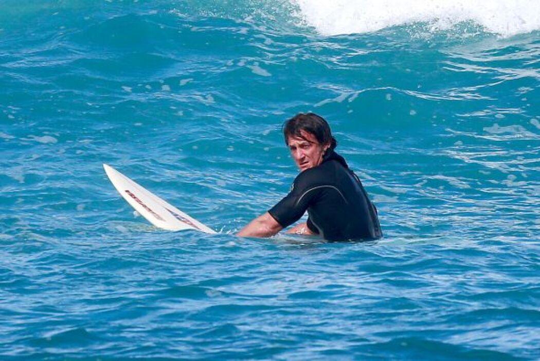 Sean disfrutó del mar. Mira aquí los videos más chismosos.