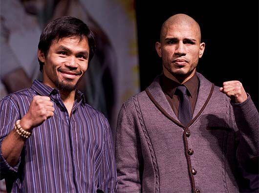 Manny Pacquiao y Miguel Cotto, los protagonistas de la pelea más esperad...