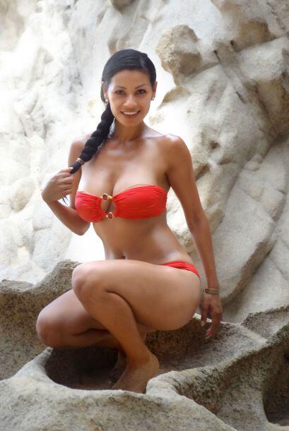Columba, la barbie mexicana, se fue de vacaciones a Los Cabos,  Baja Cal...