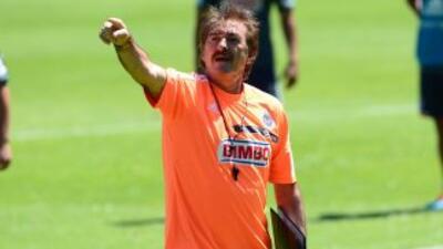 Ricardo La Volpe al fin se encontró cara a cara con Vergara en Chivas.