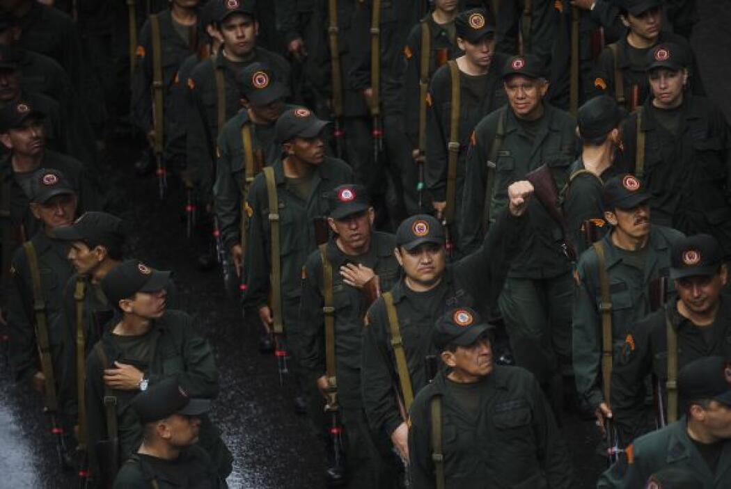 Los grupos de civiles con funciones militares fueron creados desde 2005.
