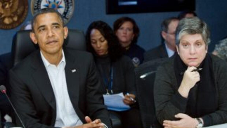 El presidente de EEUU, Barack Obama, garantizó toda la ayuda necesaria a...