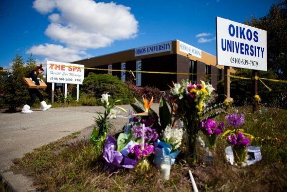 2 de abril de 2012.- Siete personas murieron en  un tiroteo.