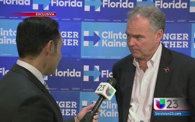 Tim Kaine habla sobre el rumbo de la relación entre Estados Unidos y Cuba
