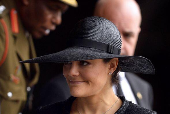 La princesa Victoria de Suecia decidió no acudir a la entrega de...