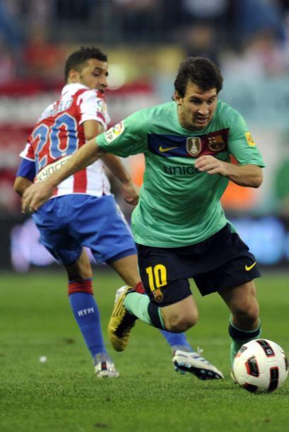 Barcelona y Atlético de Madrid protagonizaron el duelo más esperado de l...