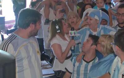 Chicago festeja triunfo de Argentina vs Holanda